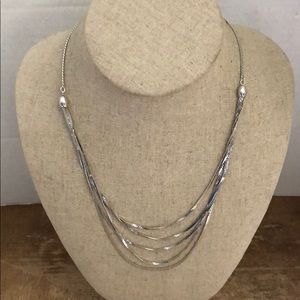 Necklace silver plated  Trifari 🌷